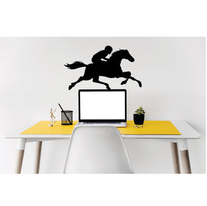 Horse Racing Vinyl Wall Art
