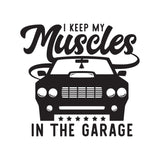 I Keep My Muscles T-Shirt