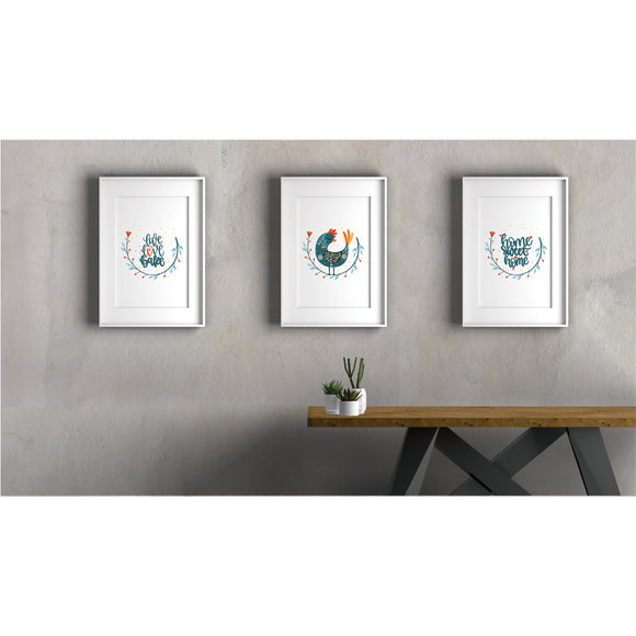 Kitchen Set Art Prints