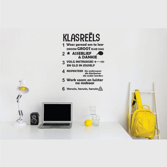 Klasreels Vinyl Wall Art