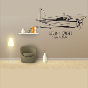 Life Is A Journey Vinyl Wall Art