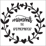 Moments To Remember Vinyl Wall Art