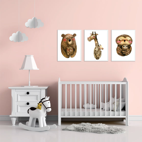 Mother And Baby Art Prints