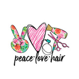 Peace Love Hair T-Shirt