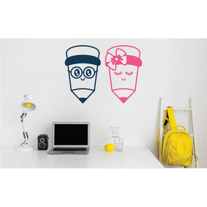 Pencils Vinyl Wall Art
