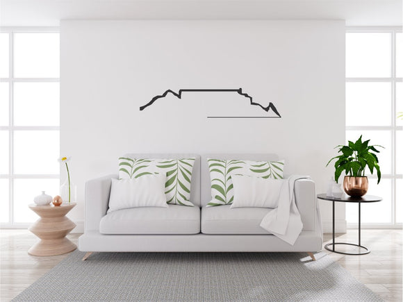 Table Mountain Vinyl Wall Art