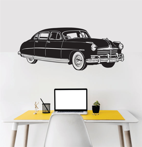 Vintage Car Vinyl Wall Art