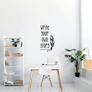 Write Your Own Story Vinyl Wall Art