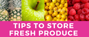 Tips For Storing Fresh Produce