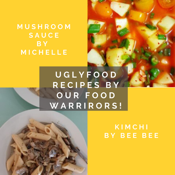 UglyFood Recipes: Food Warriors Edition!