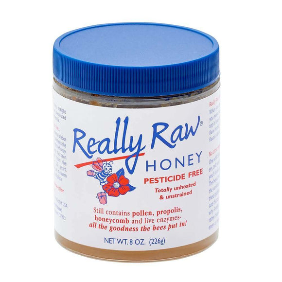 Honey Really Raw Honey 8oz/1lb