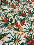 Cotton Twill Prints - Botanical Pink