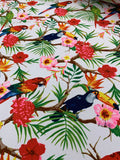 Cotton Twill Prints - Macaw