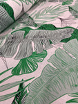 Viscose Woven - Palm Leaves Mint
