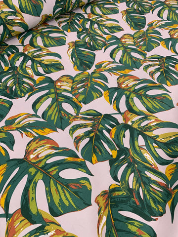 Cotton Twill Prints - Delicious Monster Green