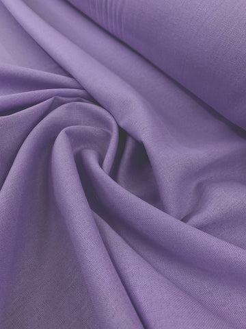 Linen Rayon - Purple Rose