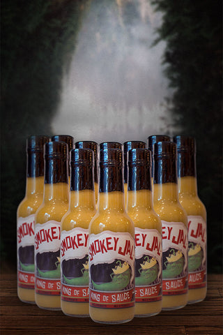 Smokey Jal Hot Sauce — 12 Pack