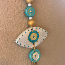 Load image into Gallery viewer, Gouria-Turquoise Mati (Evil Eye)