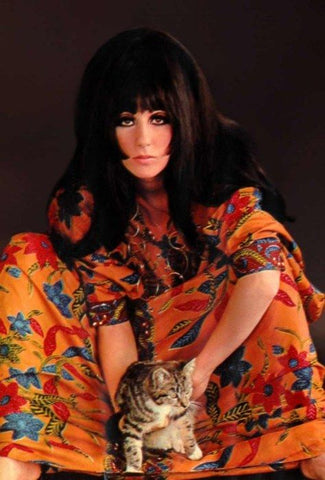 Cher the cat lover