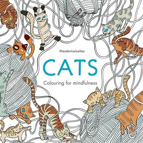 Cats colouring for mindfulness