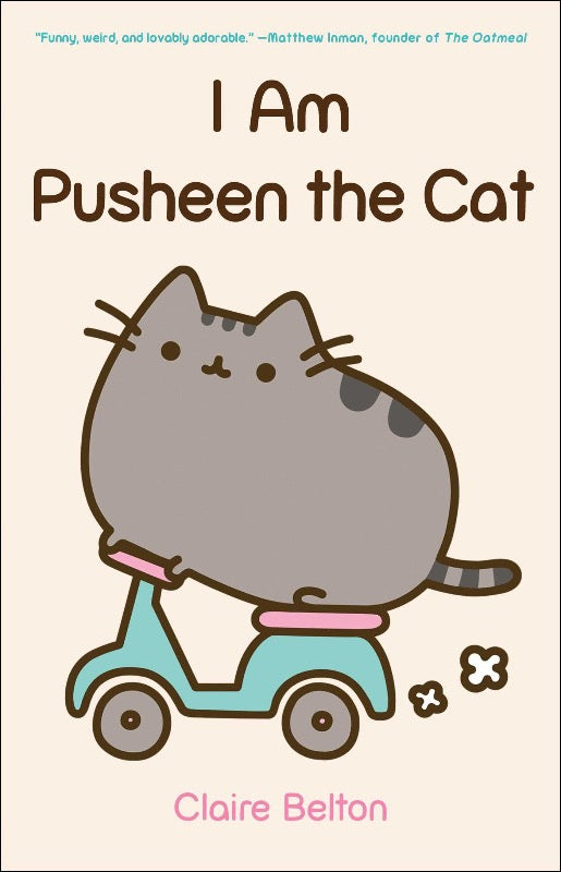 I Am Pusheen The Cat features some of the most popular comics from the website, including Reasons I Love Fall, Career Options For Your Cat, as well as a healthy serving of never-before-seen material that is sure to delight Pusheen's many dadicated fans. I Am Pusheen the Cat is a treat for cat lovers and comics fans alike.