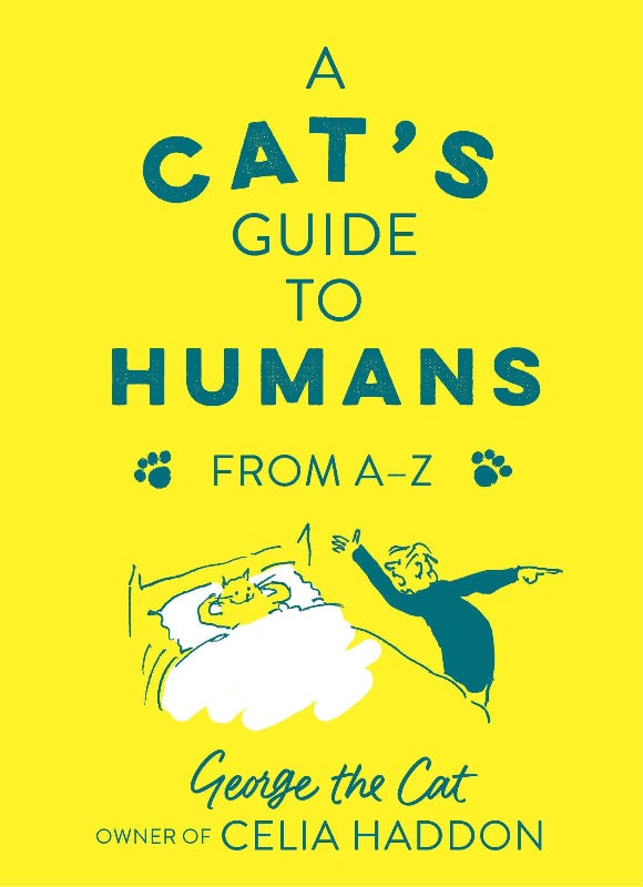 a cat's guide to humans from a to z funny cat book for cat lovers