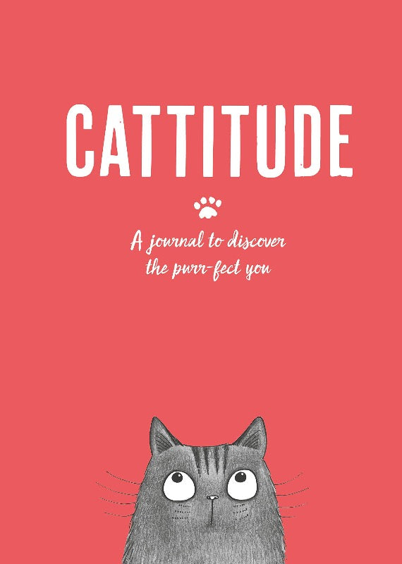 Cattitude Journal to discover the purr-fect you for cat lovers