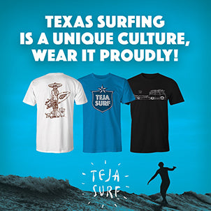 Supporting Texas surfers