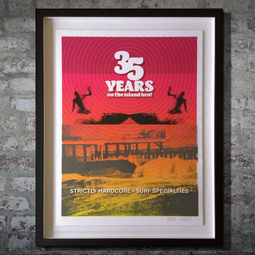 Surf Specialties 35th Anniversary Limited Edition First-Run Print