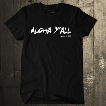 Aloha Y'all Tee Jon Steele Collection