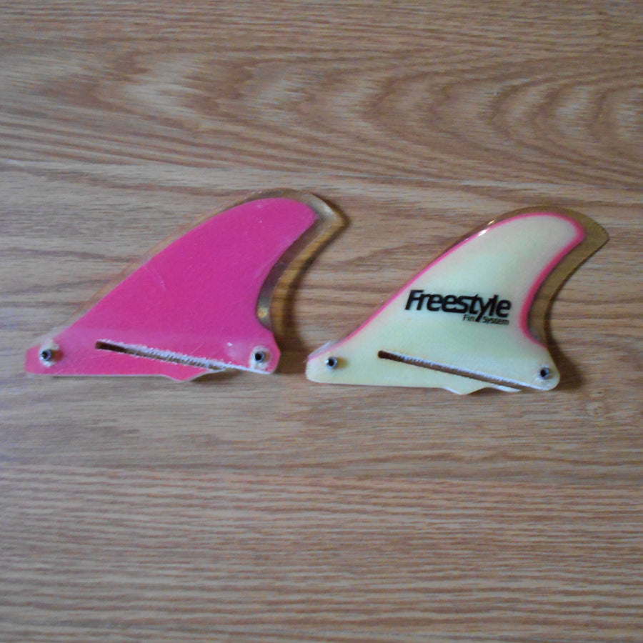 Freestyle Fin Systems Magenta Pointed Tip Side Bites