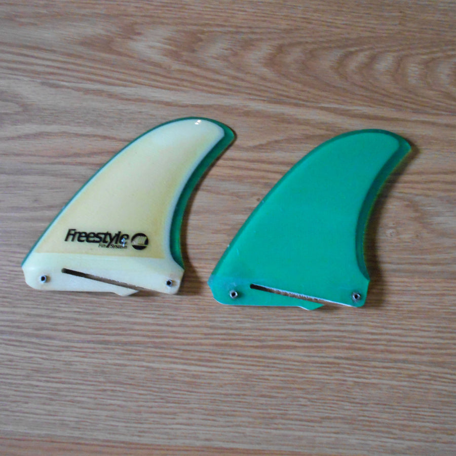 Freestyle Fin Systems Green Foam Core Side Fins