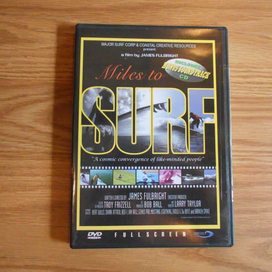 Miles To Surf DVD by Fulbright