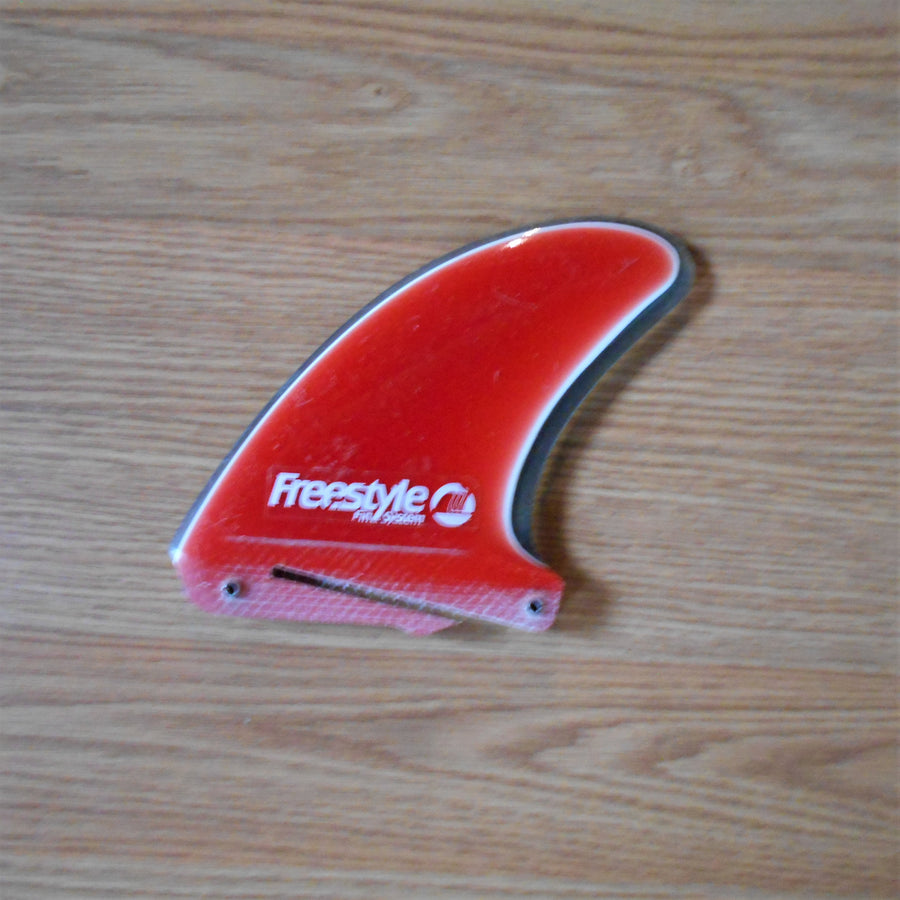 Freestyle Fin Systems Red/Blue/White Trailing Fin