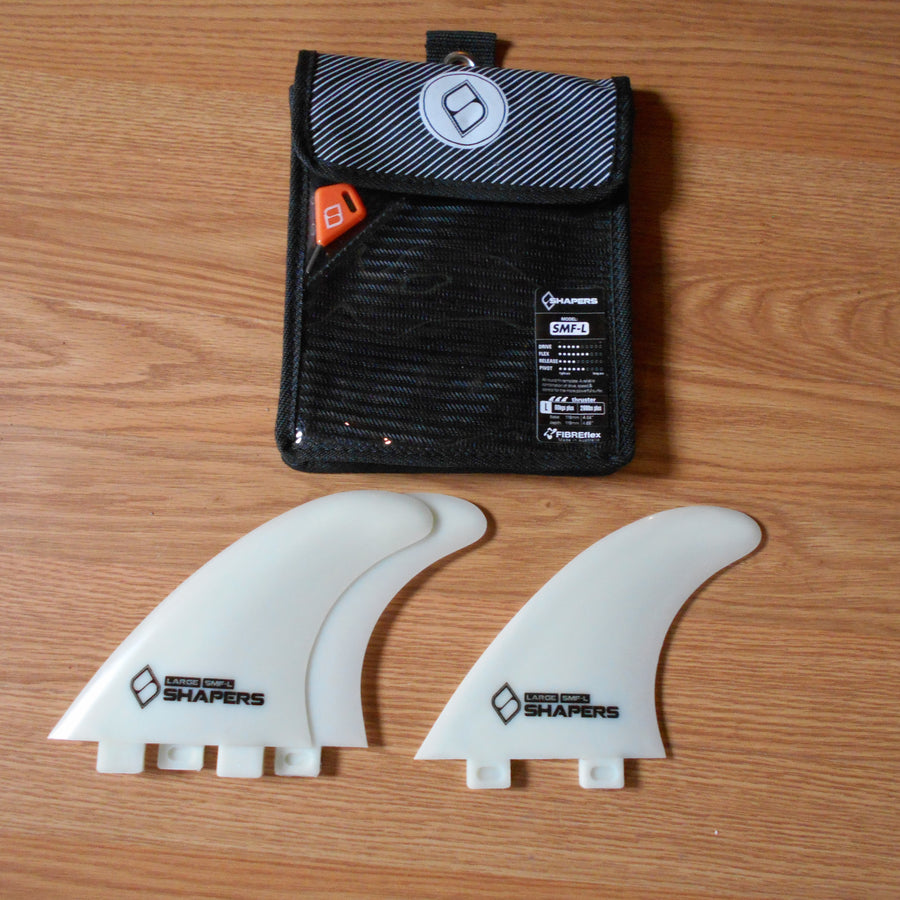 Shapers FIBREflex Fins SMF-L Thruster Set