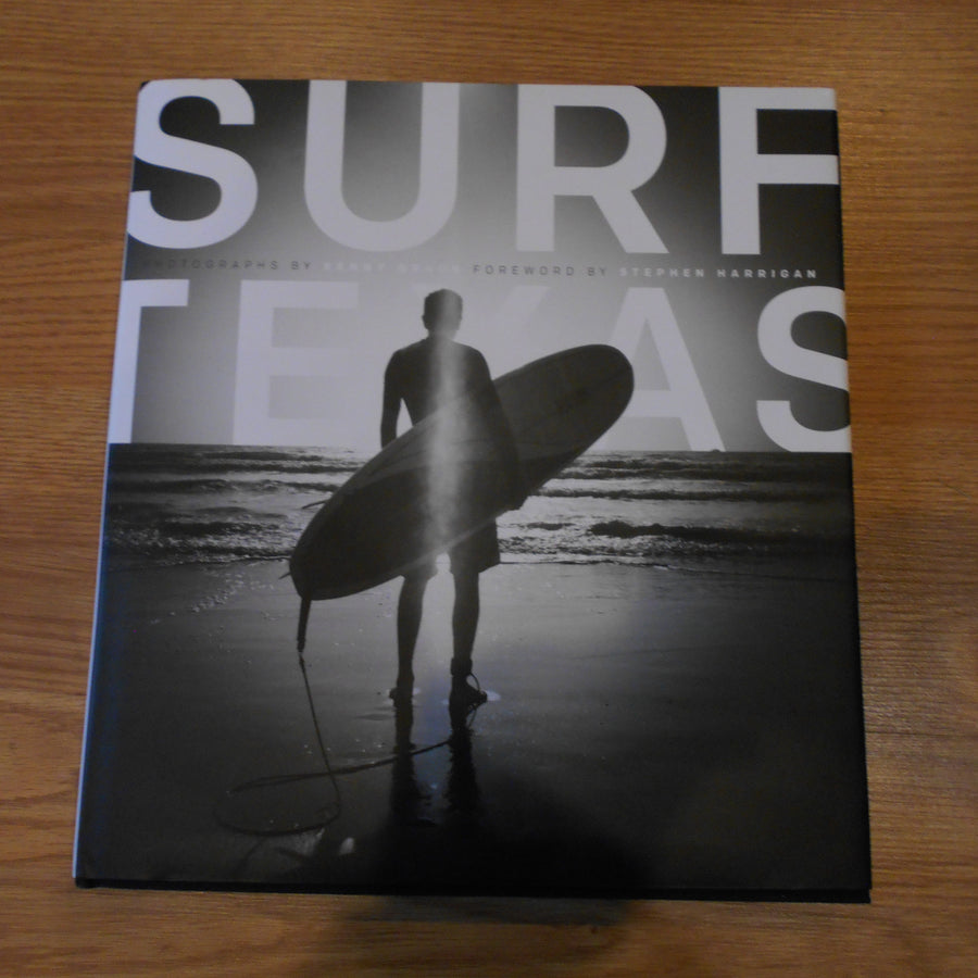 Surf Texas Hardcover Book by Kenny Braun