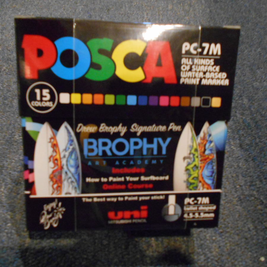 Posca Paint Pens Set for Surfboards