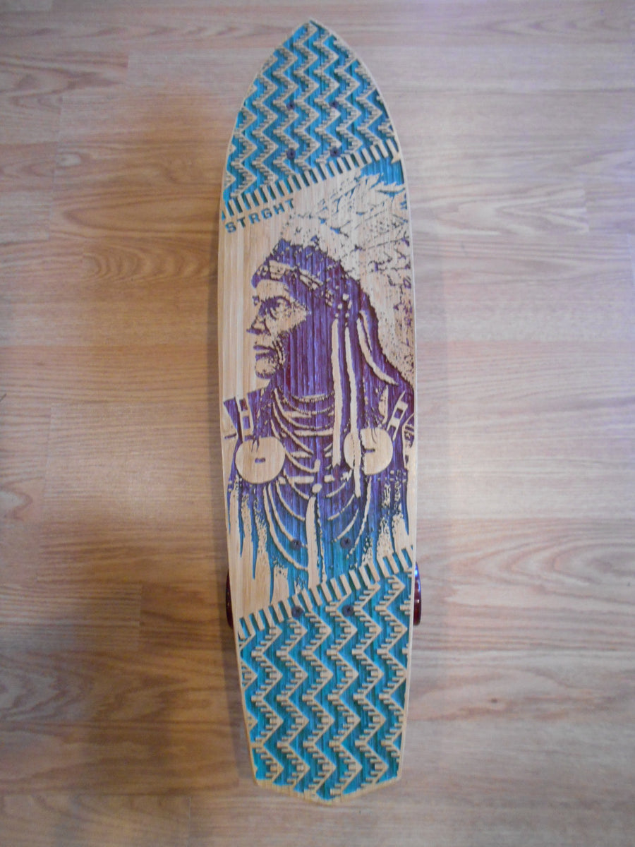 STRGHT Original Collection Skateboards-Skates with Wolves model