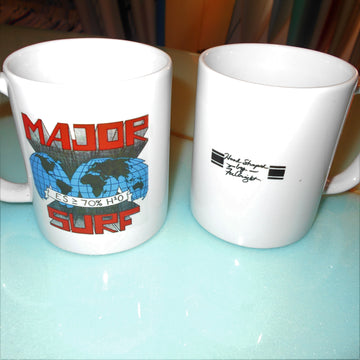 Major Surf Surfboards Mug