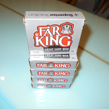 Far KIng wax available at Strictly Hardcore Surf