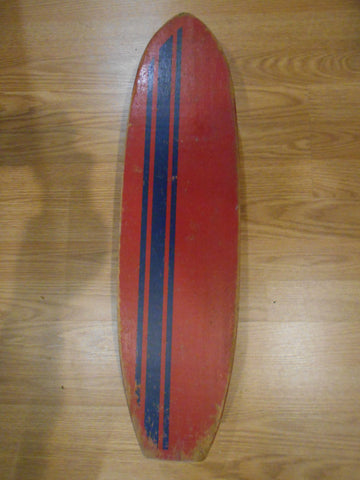 Fulbright's second skateboard, complete