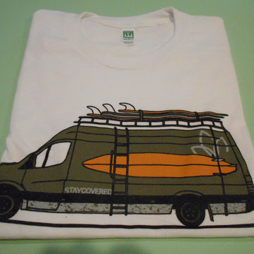 Stay Covered Surf Accessories Van Tee