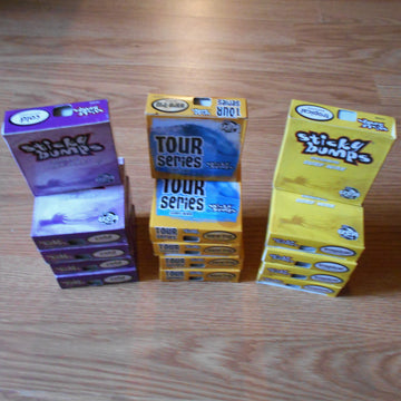 Sticky Bumps Surf Wax 5-Pack