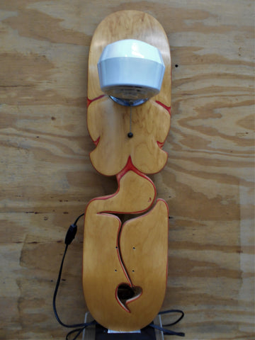 naked skateboard lamps surf specialties galveston texas