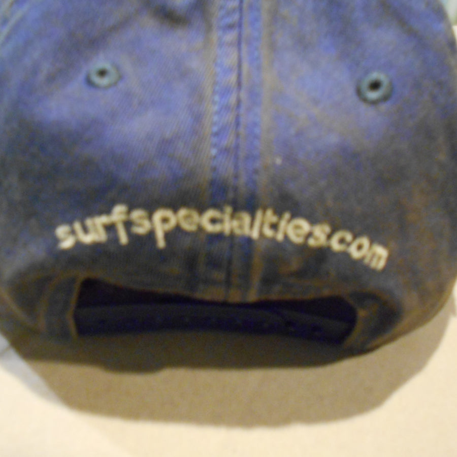 Surf Specialties Website Embroidery on back Hat