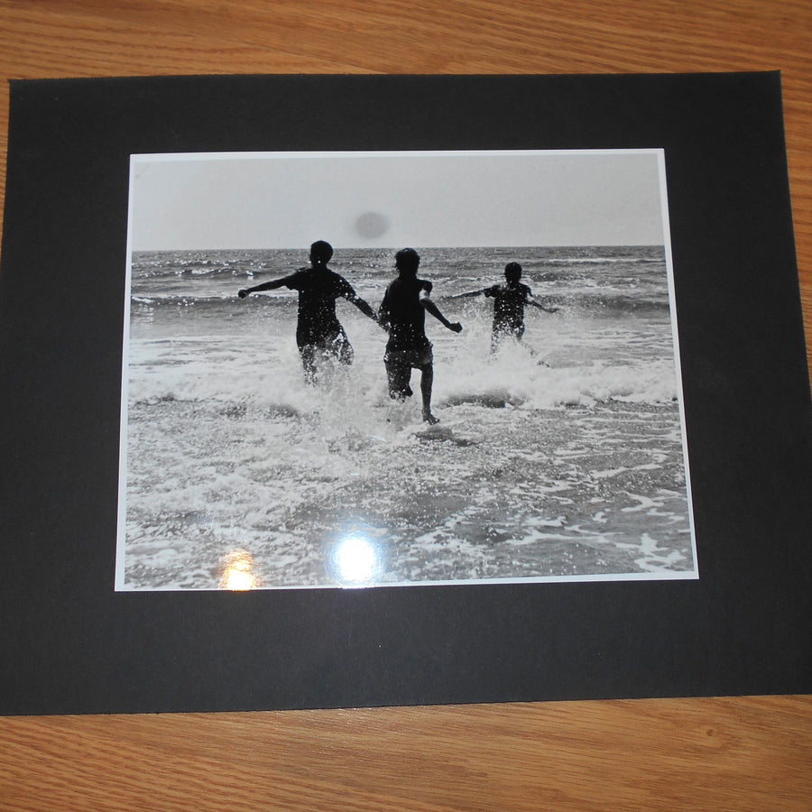 Surf Galveston Matted Photo Collection