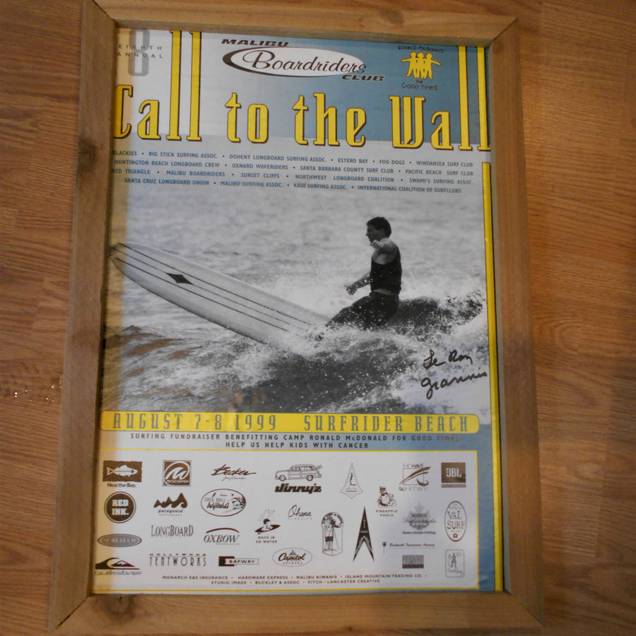 Vintage Surf Art-Call to the Wall