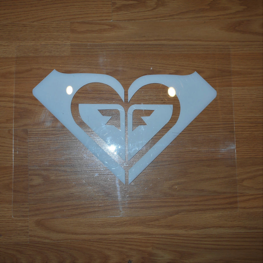 Vintage Transparent Roxy Sign POP
