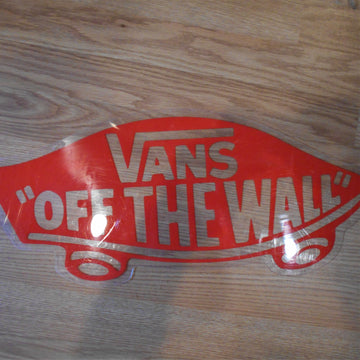Vans Off The Wall Vintage Sign