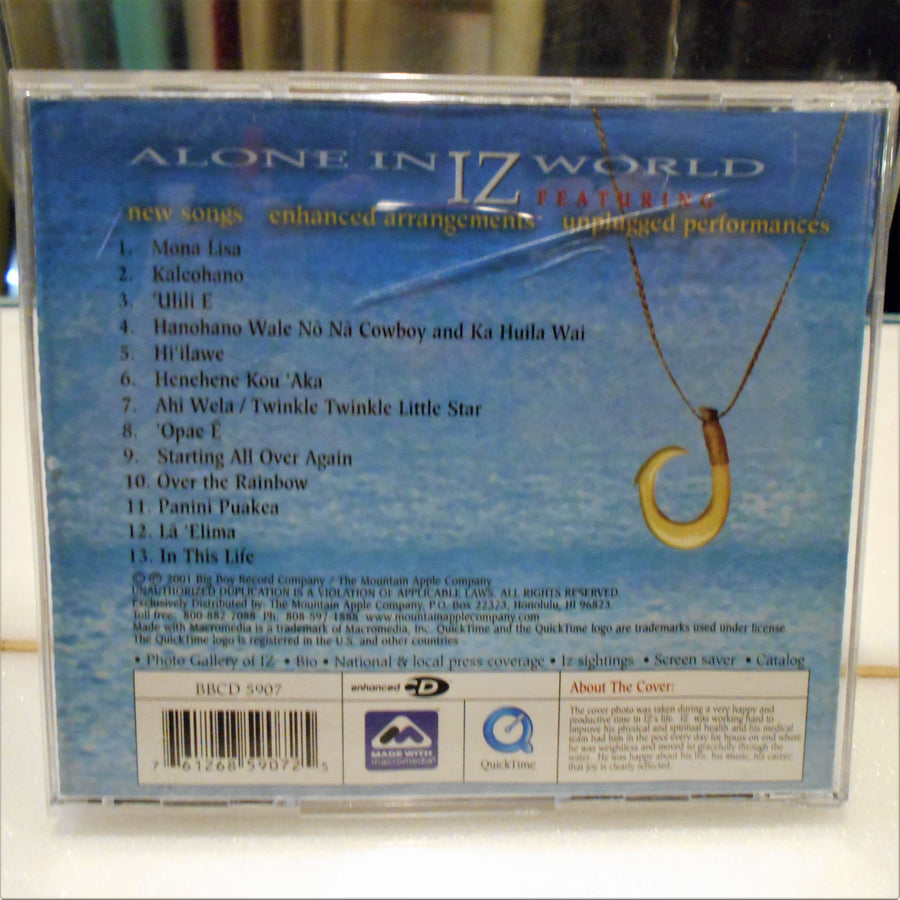 IZ-Alone in IZ World CD